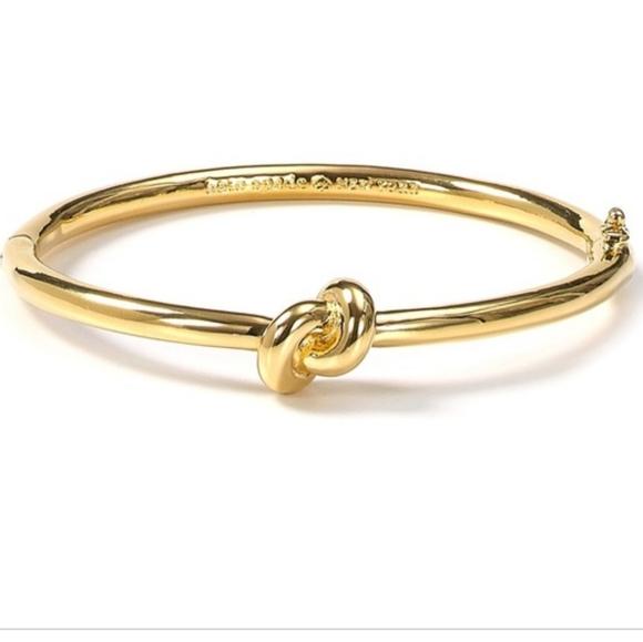 Kate Spade Sailors Knot Gold Bangle